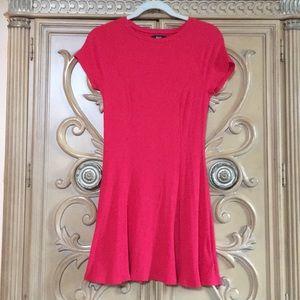 BDG a-line deep pink stretchy dress euc size M